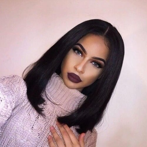 90s long bob hairstyles for black women