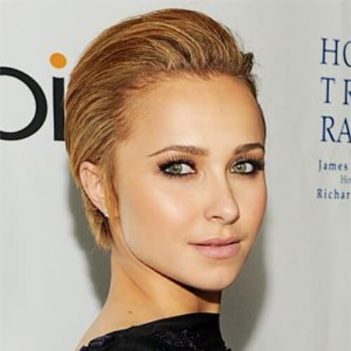Hayden Panettiere prom hairstyles for short hair