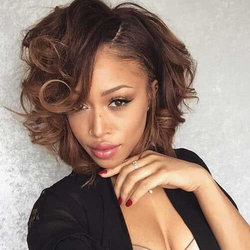 bed head bob hairstyles for black women