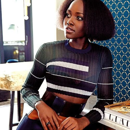 lupita nyong'o bob hairstyles for black women