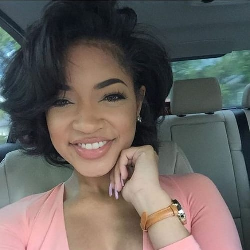 short layered bob hairstyles for black women