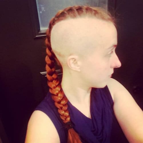 45 Fierce Braided Mohawk Hairstyles My New Hairstyles