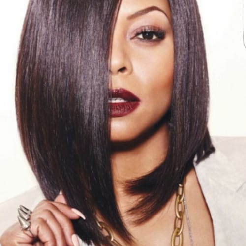 taraji p henson bob hairstyles for black women