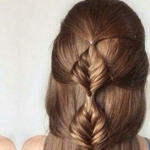 bubble braid hairstyles for long hair