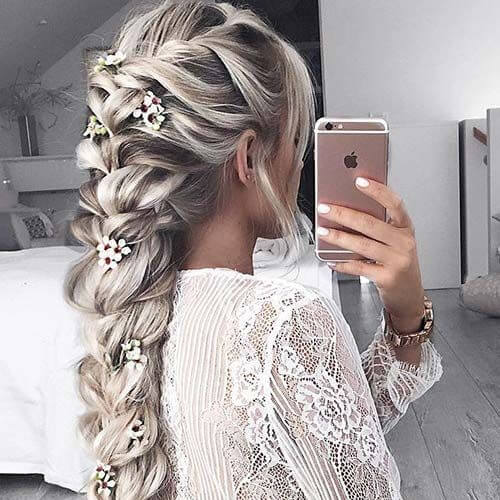 50 Loveable Braid Hairstyles for Long Hair - My New Hairstyles