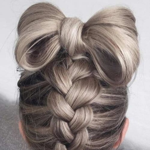 hair bow cool hairstyles for girls