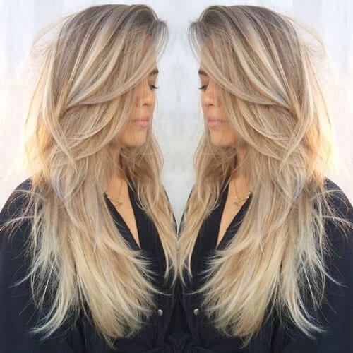 manhattan blonde high highlights and lowlights & 50 Creative Highlights and Lowlights Ideas - My New Hairstyles