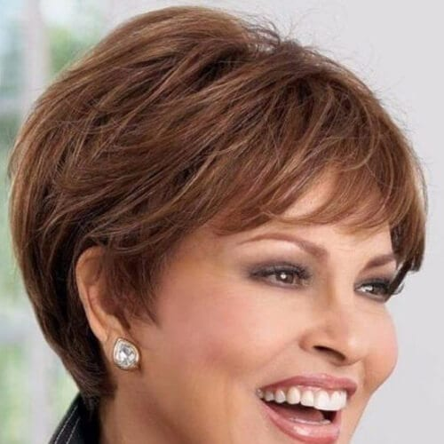 raquel welch chestnut hair color