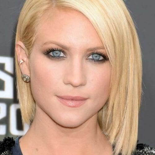 bottle blonde short haircuts for straight hair