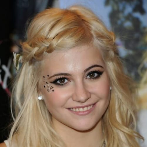 cute braided bang hairstyles