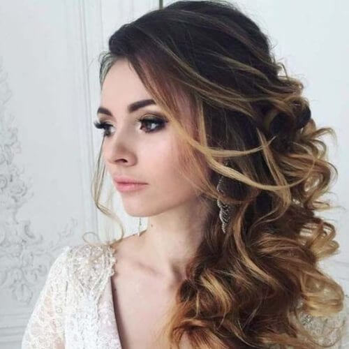 messy side hairstyles for prom