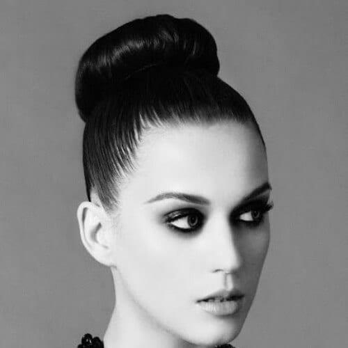 elegant katy perry hairstyles