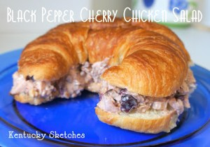 Black Pepper Cherry Chicken Salad