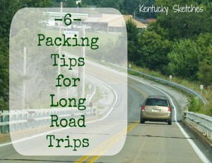 6 Packing Tips for Long Road Trips