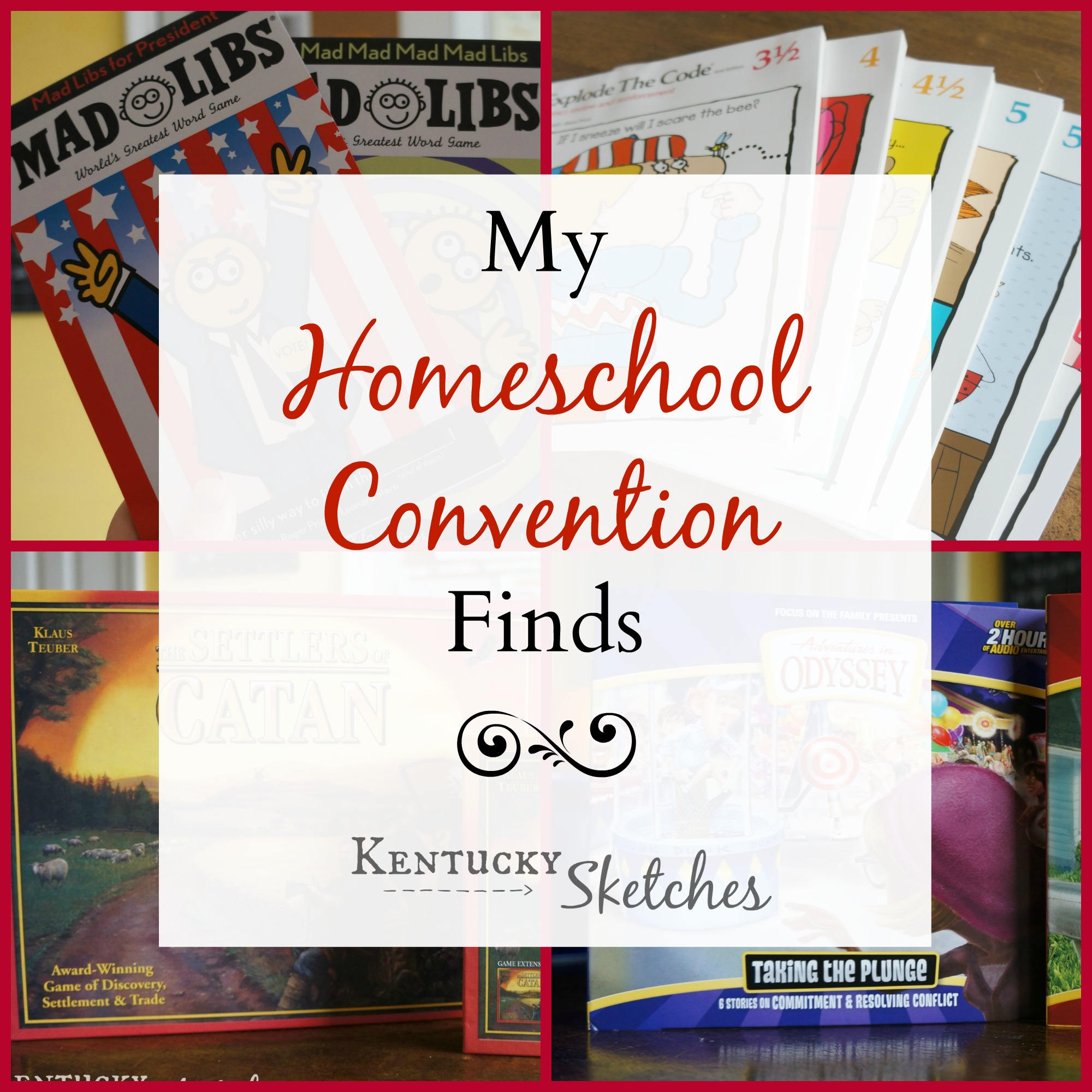 Homeschool Convention Finds