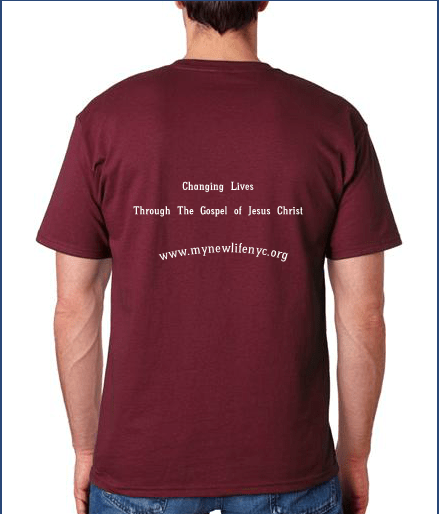 NLAC t-shirt back
