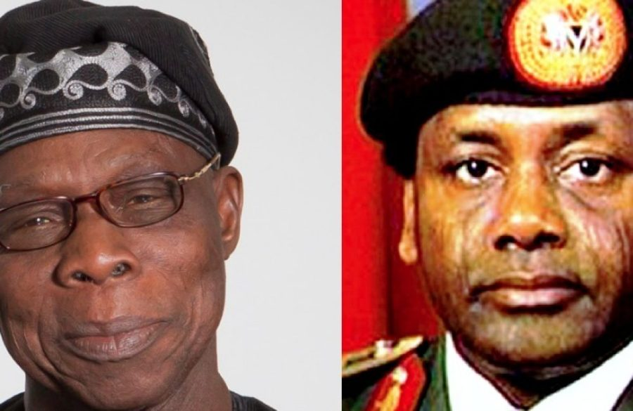 Former Democratic President-Obasanjo and Military Dictator Abacha