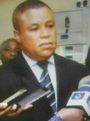 Vice President, Ikeduru Hospital, Dr Austin Agbhiwe