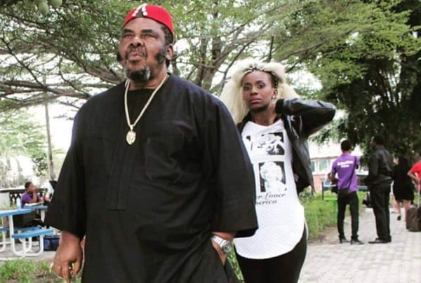 Pete Edochie is my dream husband -Nollywood Actress