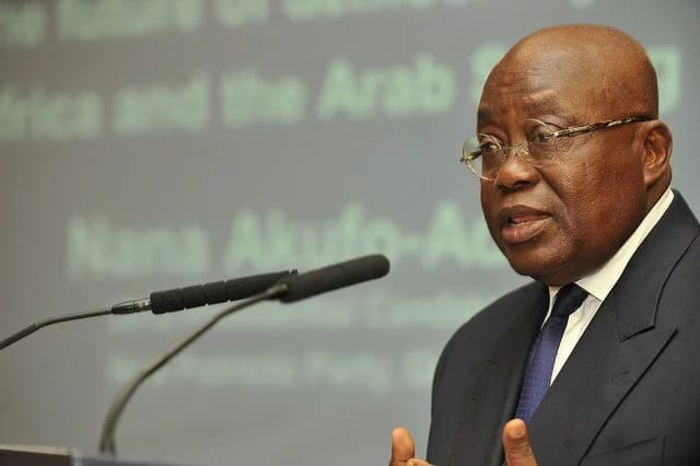 Nana Addo Delivers Vote of Thanks at AU Summit