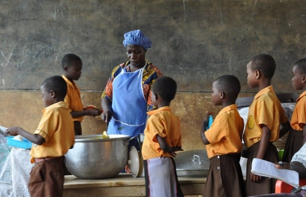Pupils starve as 'NPP caterers' takeover school feeding