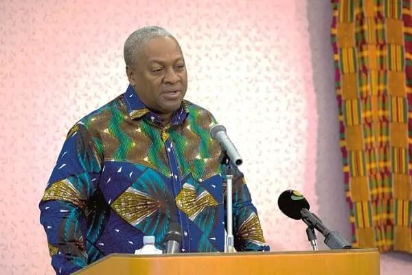 Former President Mahama in Kenya for speaking engagements