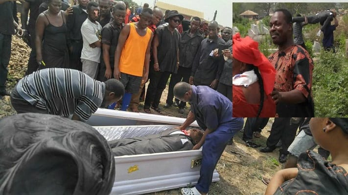 Mortuary man Storms Cemetery, Seizes Corpse over GH¢40 'Debt'