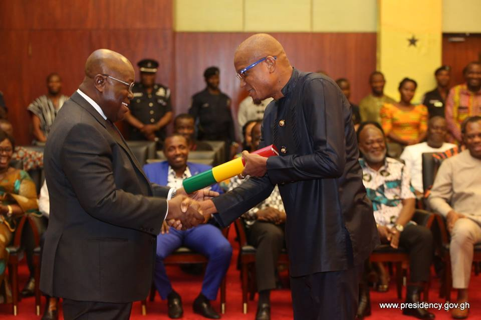 PICTURES: Swearing in ceremony of new ministers