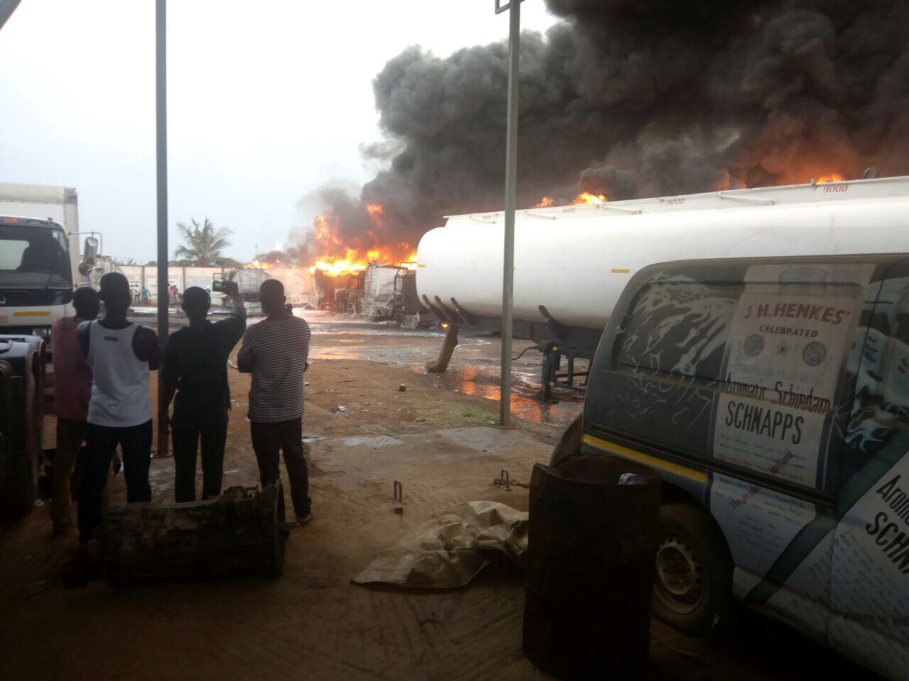 Several Persons  Dead in Tema Gas Explosion