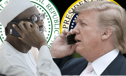White House finally reveals details of Trump's phone call with Buhari