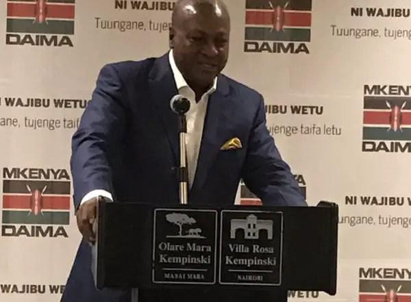 John Mahama speaks about son's graduation