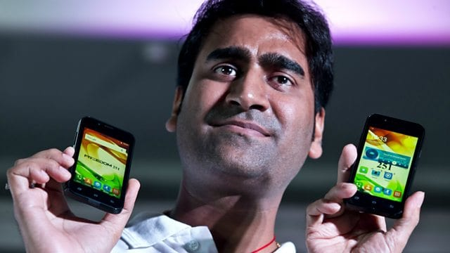 Indian police arrest man behind 'world's cheapest smartphone'