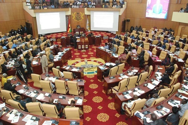 PHOTOS of Disaster in Ghana's Parliament