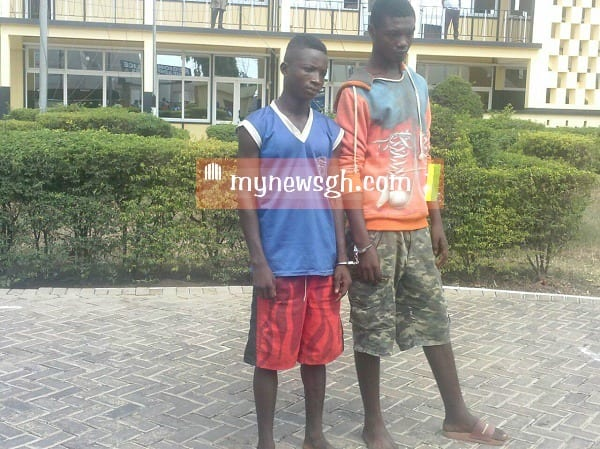 A/R: Two Teenagers Arrested for Robbery