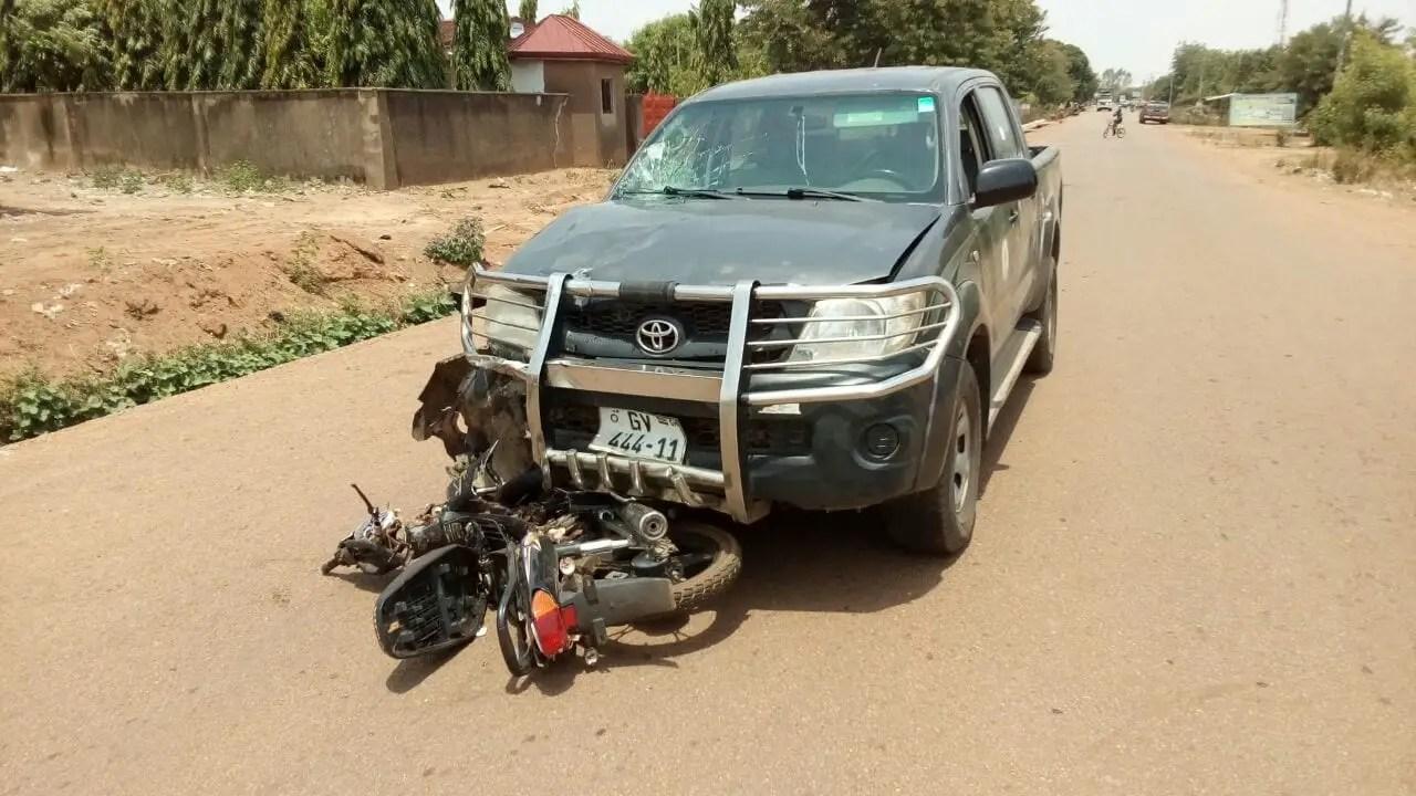 Student Nurse Crashed by State Vehicle
