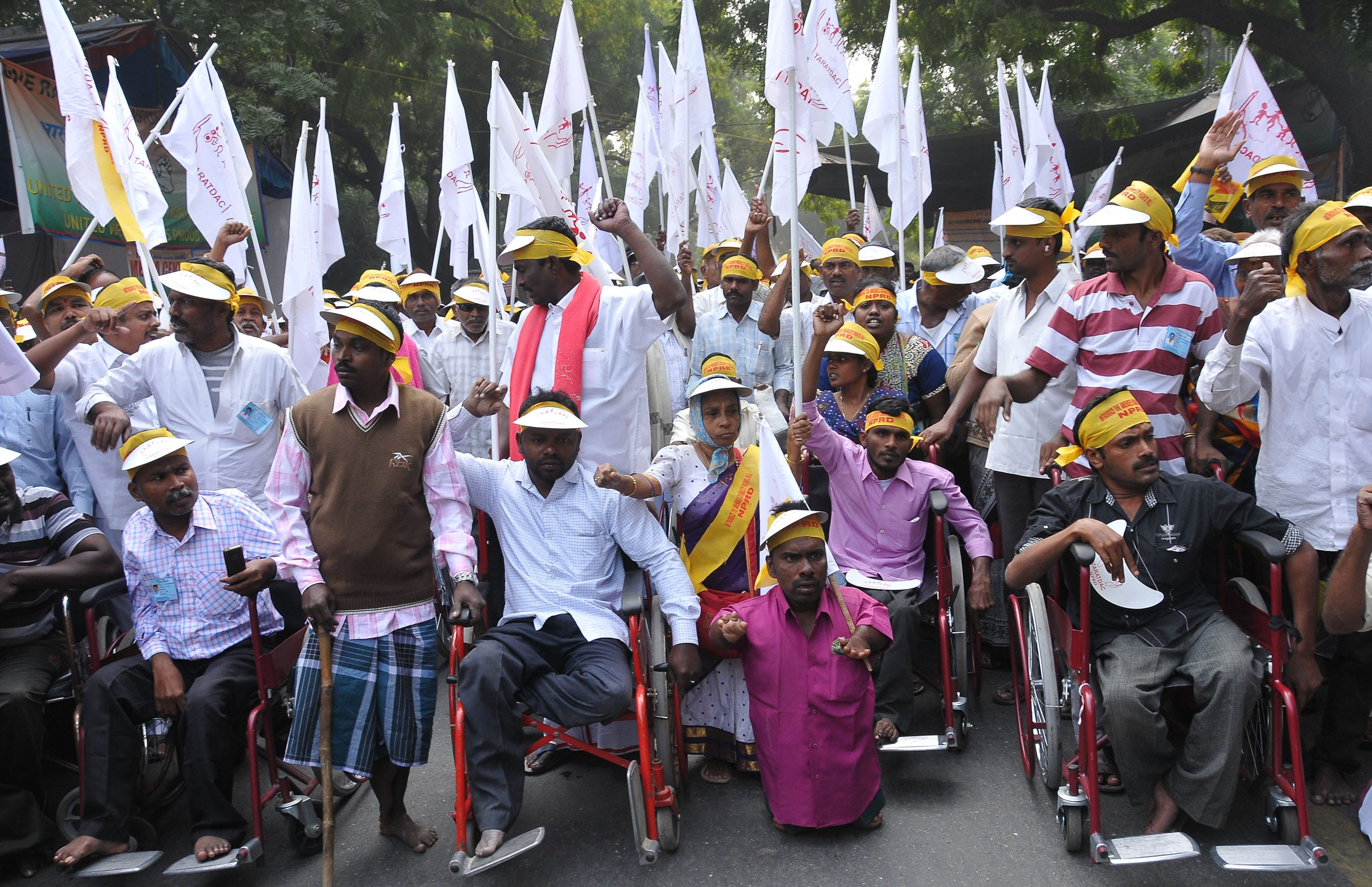 Persons with Disability Announce Boycott of 60th Independence Parade