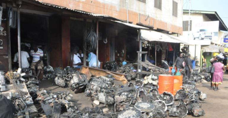 Spare parts dealers hail gov't for scrapping import duties