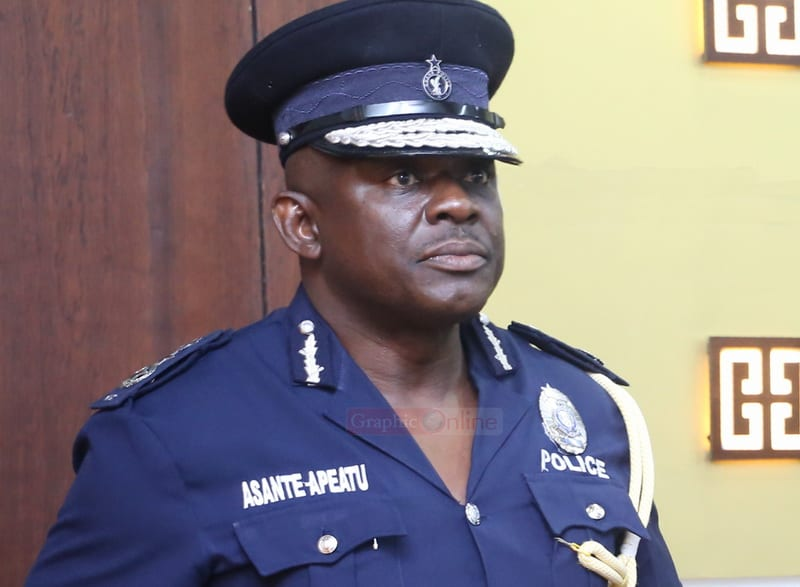 New Changes in Police Service; Yohuno and Dr Dampare affected