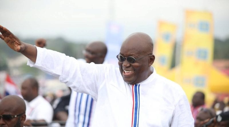 "Joblessness to blame for violent conduct of party ""vigilante groups"" – Akufo-Addo"