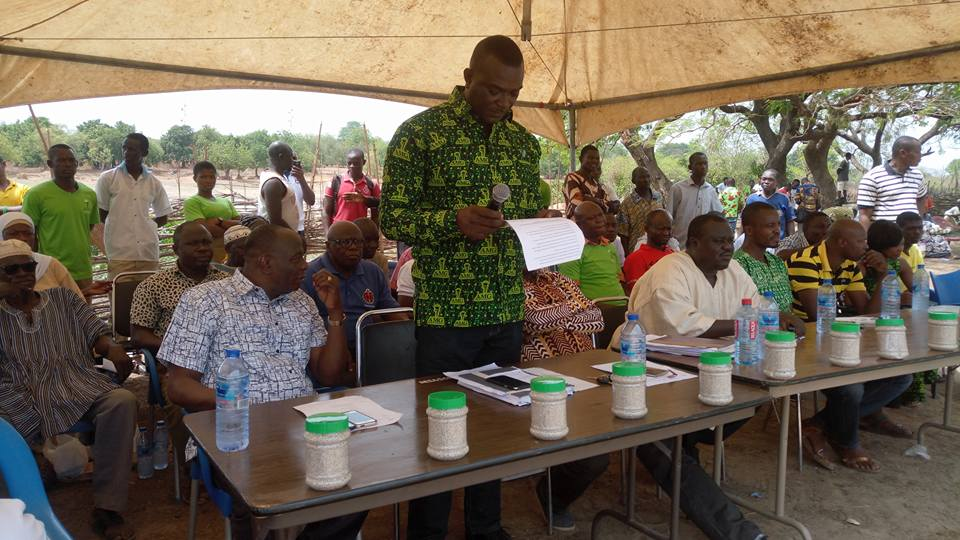 Newly Improved Fertilizer Outdoored To Farmers