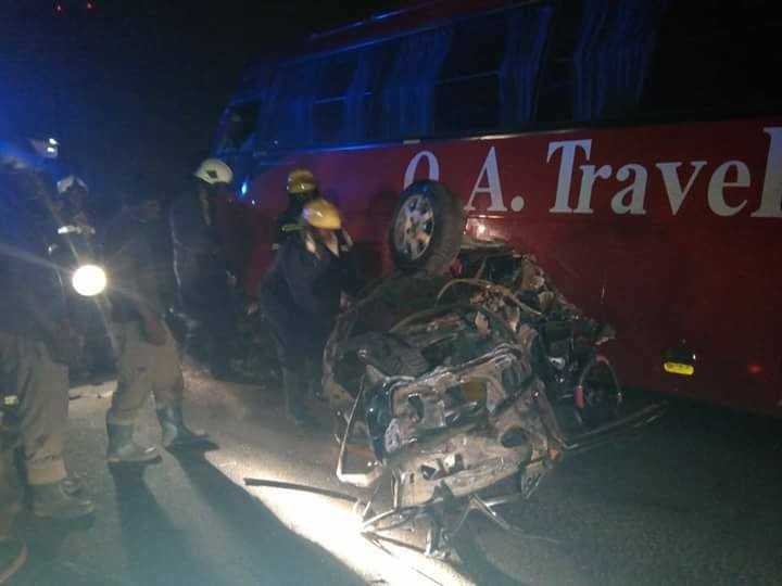 Taxi Driver Killed in Dawn Accident at Kumasi