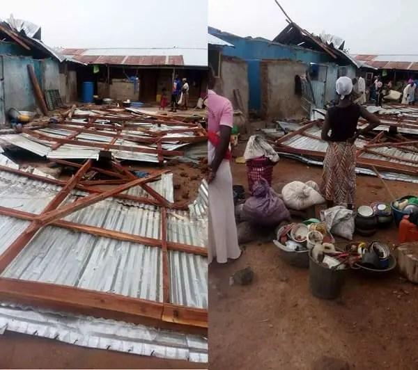 Rainstorm Renders Hundreds Homeless At Banu