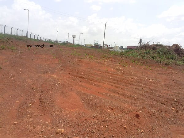 Sale of construction materials at Kumasi airport, Manager accused