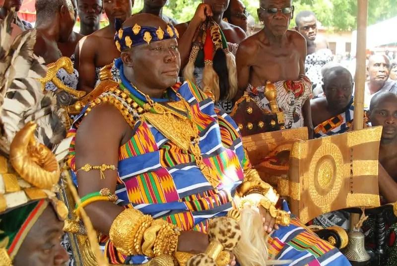 Image result for Otumfuo Osei Tutu II, Ashanti, Ghana