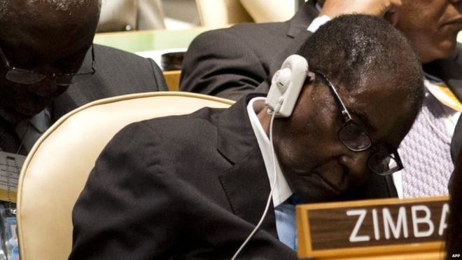 I am not dying, I am not going anywhere – Mugabe tells supporters