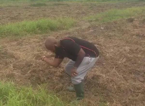 Trigmatic heeds to John Mahama's advise; starts his own farm
