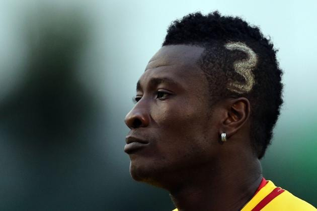 This is how Asamoah Gyan reacted to Captain Mahama's death
