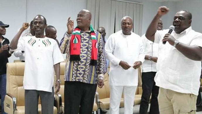 NPP to name NDC executives engaged in 'galamsey'