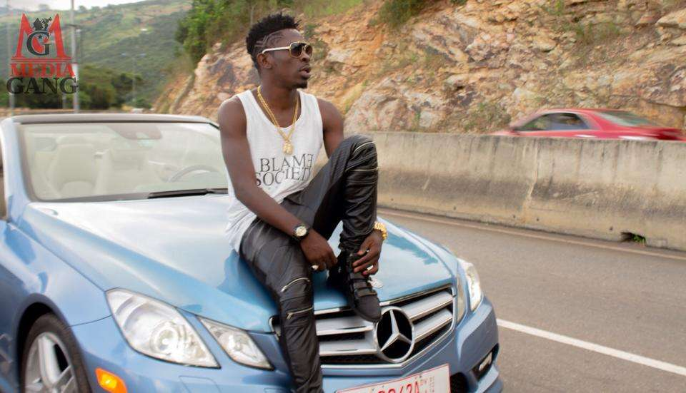 Shatta Wale reveals plans to surprise his fan with his Maserati