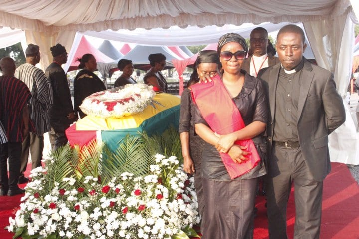 MORE PICTURES: Major Mahama's Burial Service